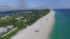 Haulover Beach, Miami, Florida Stock Footage