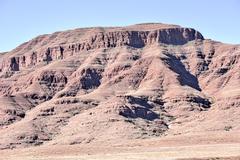Desert Landscape - Namibia - stock photo