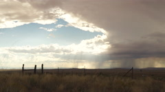 Storm Cloud Timelapse in the American Southwest Stock Footage
