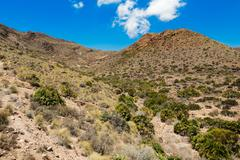 Desert near Cabo del Gata, Almeria, Spain - stock photo