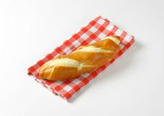 Stock Photo of Plain finger roll with a soft crust