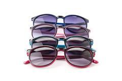 Sunglasses isolated white background Stock Photos