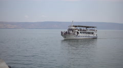 Sport Boat On Blue Water - stock footage