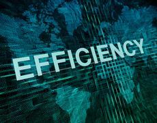 Stock Illustration of Efficiency