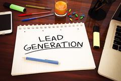 Lead Generation - stock illustration