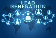 Lead Generation - stock illustration
