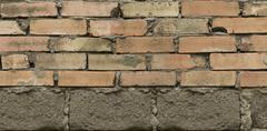 Brick texture background Stock Photos