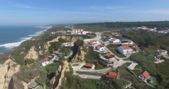 Vale Furado aerial view Stock Footage