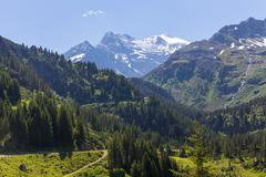 Sustenstrasse pass in Alsp - stock photo