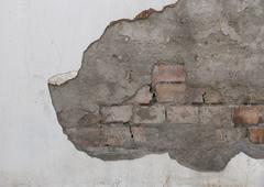 old stone damaged background - stock photo