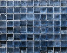 Window glass block texture Stock Photos