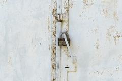 padlock background - stock photo
