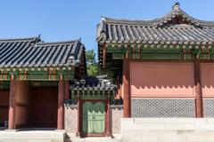 Changdeokgung Architecture - stock photo