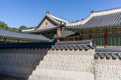 Changdeokgung Architecture - stock photo