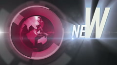 Nevs_globe background LOOP 4K RED- colorless - stock footage