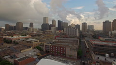 Aerial Mississippi New Orleans Stock Footage