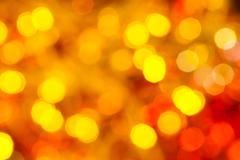 Stock Photo of yellow and red flickering Christmas lights