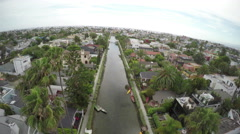 Venice Beach - Canals - stock footage