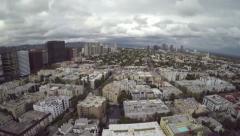 Los Angeles Nice Neighborhood Footprint Stock Footage