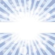 Sunbeams, abstract background - stock illustration