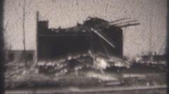 Bunker Hill Tornado 1948 Stock Footage
