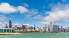Chicago Downtown Time Lapse - stock footage
