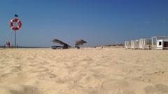 CASTRO MARIM, PRAIA VERDE, PORTUGAL- SEPTEMBER 29, 2015: View of Praia Verde Stock Footage