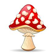 Mushroom - stock illustration