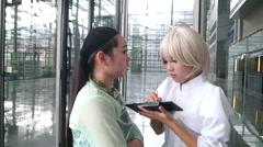 Shenzhen International Video Festival activities Stock Footage