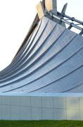 Free Form Roof of Yoyogi National Gymnasium in Tokyo Stock Photos