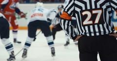Referee Stock Footage