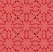Seamless ornaments red shades Stock Illustration