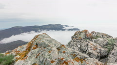 Timelapse Crimean mountains Stock Footage