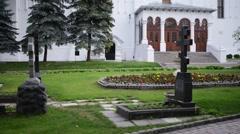 Trinity Lavra of St. Sergius Stock Footage