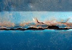 Close view of rusting car Stock Photos