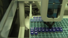 CDC scientists work in a lab to test for avian bird flu. Stock Footage