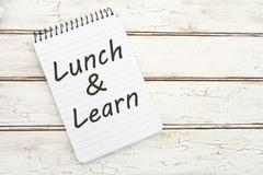 Lunch and Learn - stock photo
