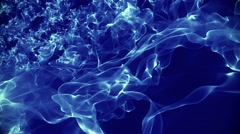Abstract background in blue on dark blue Stock Footage