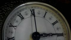30 seconds antique clock Stock Footage