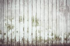 Dirty metal wall stripe background - stock photo