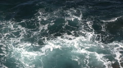 Lanzarote - Atlantic - ocean Stock Footage