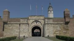 Belgrade fortress inner stambol Gate t 4K Stock Footage