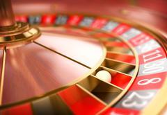 3D Casino roulette. Gambling concept Stock Illustration