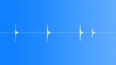 Switching elektrical switch - sound effect
