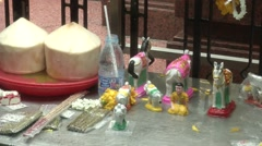 Erawan Shrine Bangkok Stock Footage
