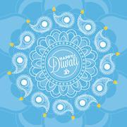 Stock Illustration of Diwali background