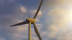 Wind Power, Turbine, Windmill, Energy Production - stock footage