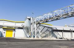 Stock Photo of Waste-to-energy facility