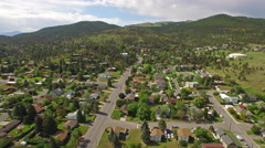 Aerial Montana Countryside Stock Footage