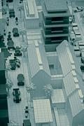 City model - stock photo